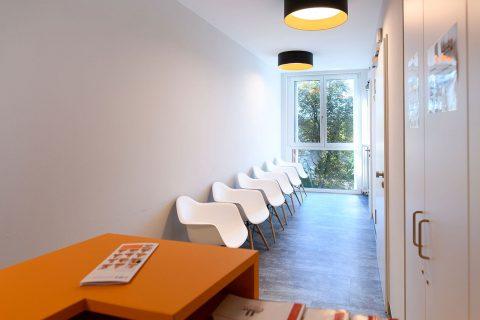 OPZ Weilheim Wartebereich OP-Zentrum OPZ Weilheim Ambulante OP Operation Arthroskopie
